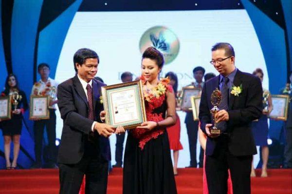 Đinh Hương Spa được chứng nhận thương hiệu ưa thích năm 2015