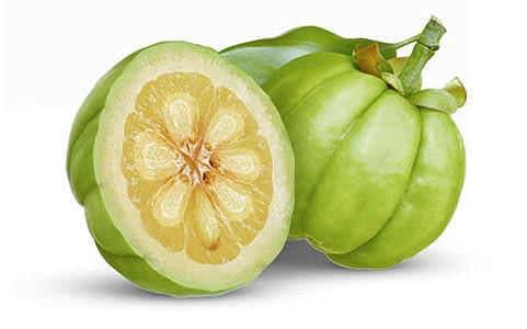 Quả Garcinia cambogia, được dùng làm gia vị phổ biến ở một số nước Châu Á và Châu Phi.