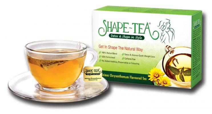 Hãy thưởng thức 1 tách Trà Detox Giảm cân Shape Tea mỗi ngày