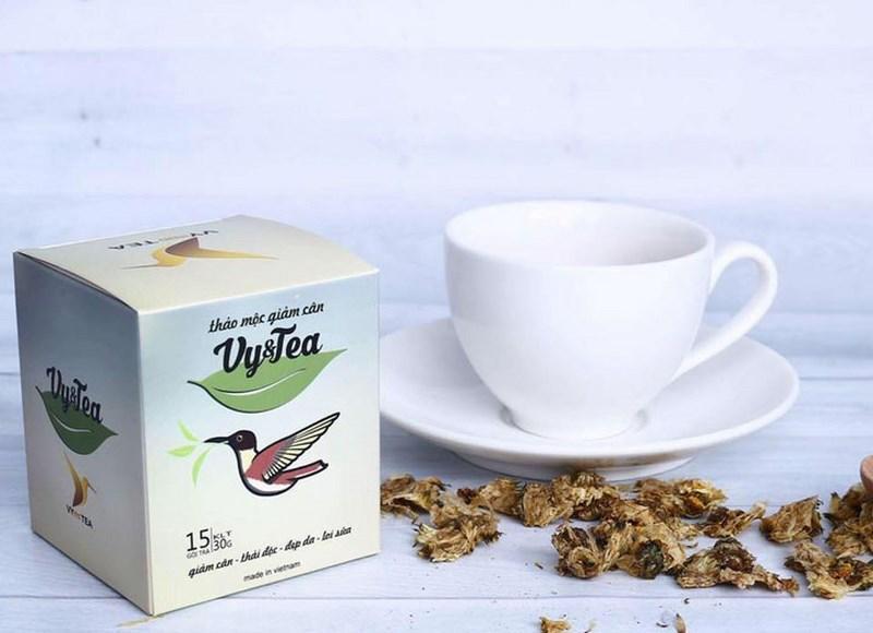 Trà giảm cân vy tea có tốt không