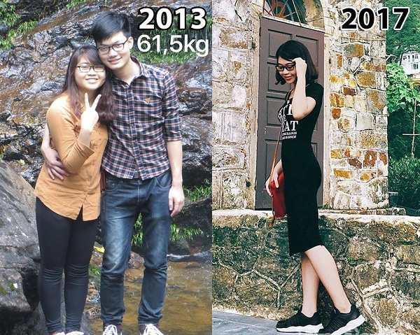 """Chia sẻ cách giảm cân của của cô gái từng bị gán mác """"thùng phuy"""""""