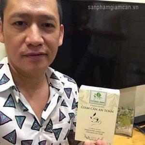 Duy Mạnh sử dụng trà giảm cân Cường Anh