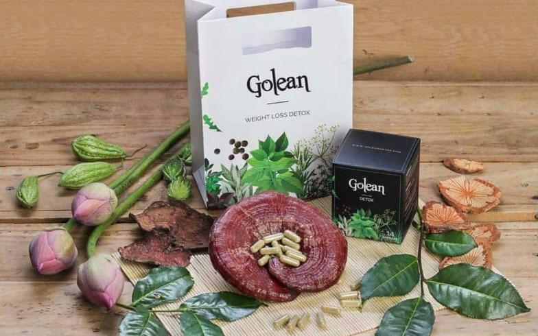 Trà giảm cân Golean Detox Có 2 dạng viên nén và trà