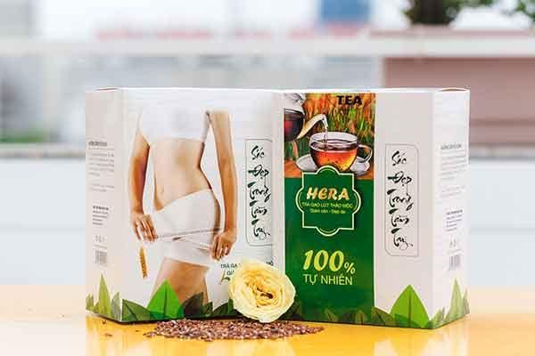 trà thảo mộc giảm cân
