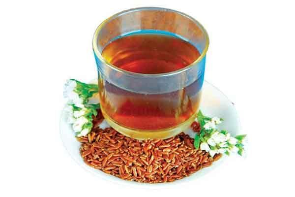 trà gạo lứt giảm cân