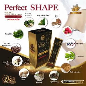 Thành phẩn Cà phê Giảm cân Dao Coffee