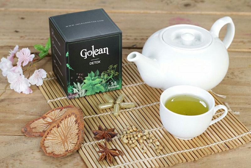 Hướng dẫn cách sử dụng trà giảm cân Golean Detox đúng liệu trình