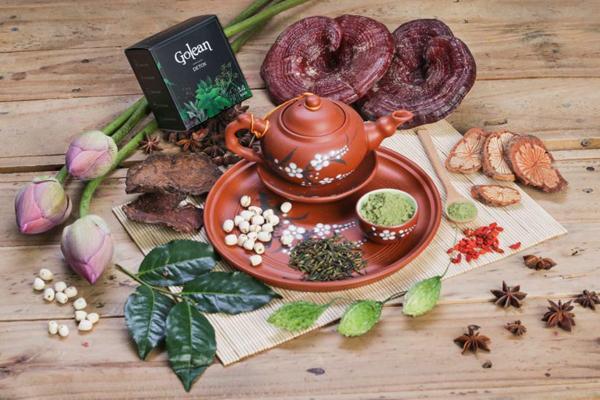 Bảng giá niêm yết chính thức của trà Golean Detox