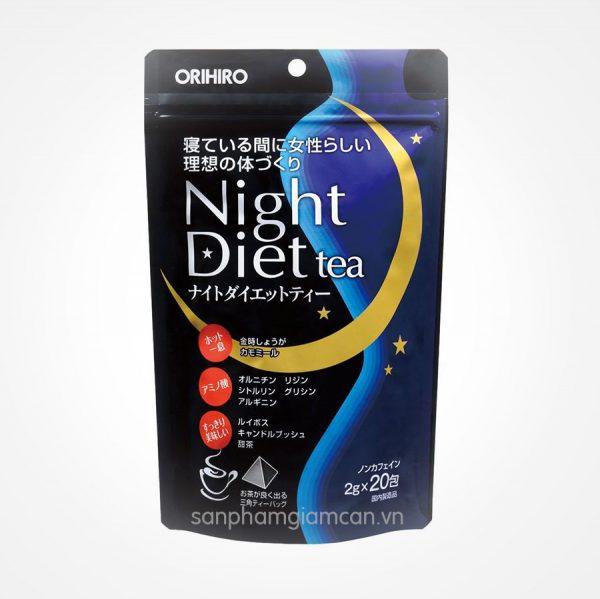 Trà giảm cân Orihiro Night Diet Tea