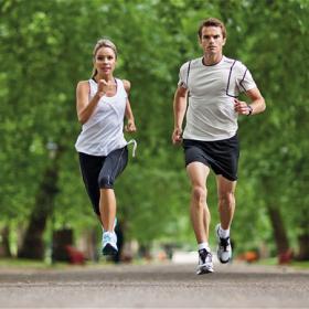 Chạy bền giảm mỡ bụng