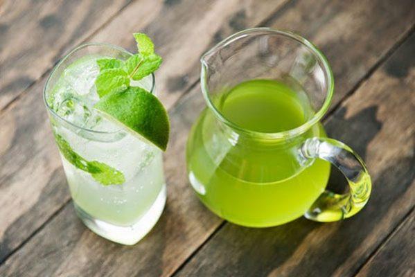 Nước uống giảm cân chanh