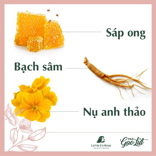 sáp ong - bạch sâm -anh thảo Giảm Cân La Vie En Rose