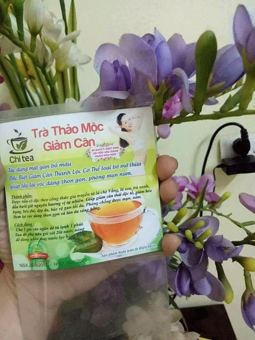 Cách Dùng Trà Giảm Cân Chi Tea