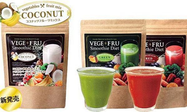 Cách sử dụng Bột rau củ quả giảm cân Vege Fru Smoothie Diet 300g