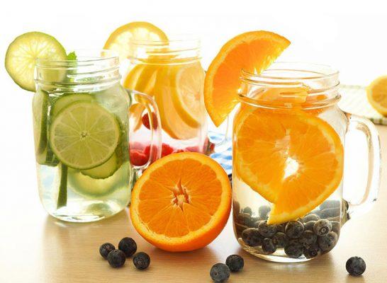 Cách làm nước Detox giảm mỡ bụng