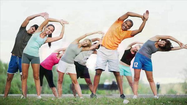 Duy trì chế độ tập thể dục hàng ngày