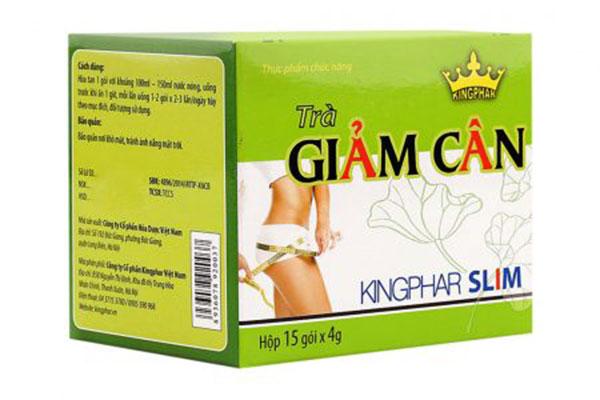 Thành phần trà giảm cân Kingphar Slim