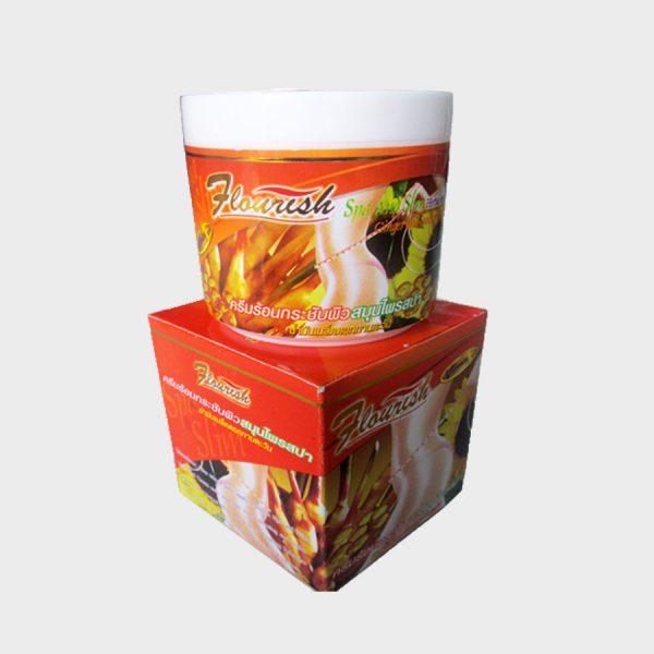Kem tan mỡ bụng gừng ớt flourish Thái Lanq