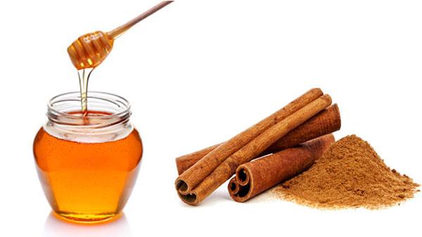 Nước mật ong và quế