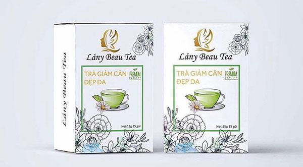 Thành phần trà giảm cân Lany Beau Tea