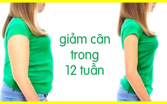 12 Mẹo giảm cân áp dụng cho 12 tuần