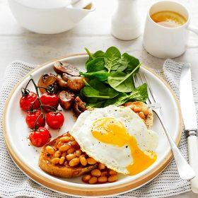 Bữa sáng giàu đạm cũng là cách để giảm cân hiệu quả