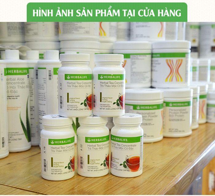 hình ảnh trà thảo mộc giảm cân herbalife tea concentrate