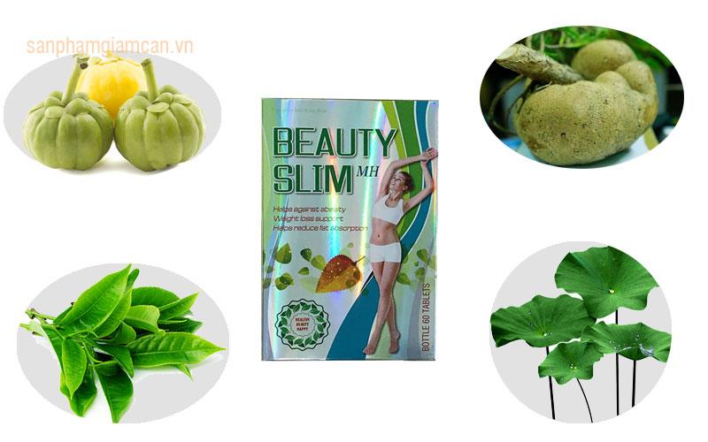 Những thành phần tạo nên thuốc giảm cân Beauty Slim