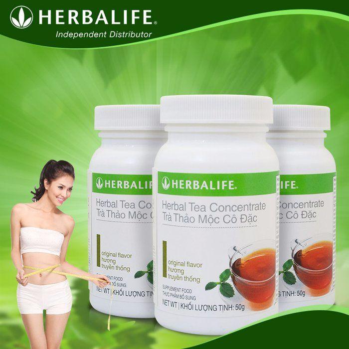 Trà thảo mộc giảm cân herbalife tea concentrate