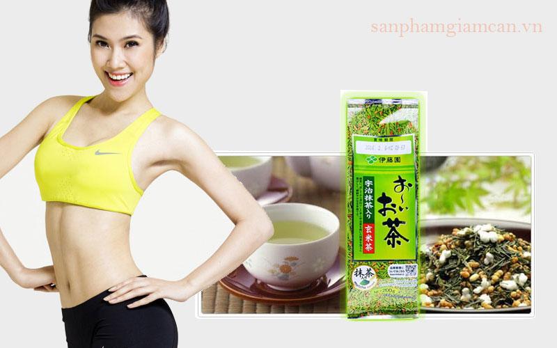 Công dụng của trà xanh gạo lứt rang Nhật Bản