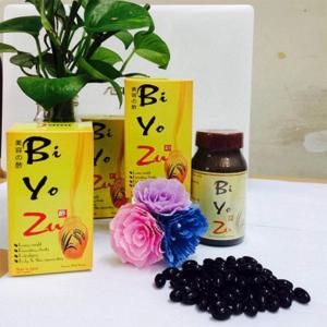 Viên giấm đen giảm cân Biyozu Nhật Bản