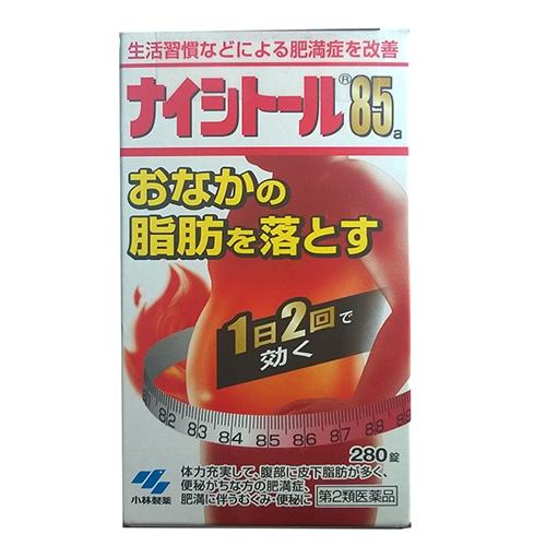 Naishitoru 85 Kobayashi hỗ trợ giảm mỡ bụng, thu gọn vòng eo