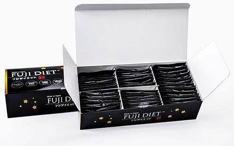 Cách sử dụng viên uống hỗ trợ giảm cân Fuji Diet hộp 60 gói