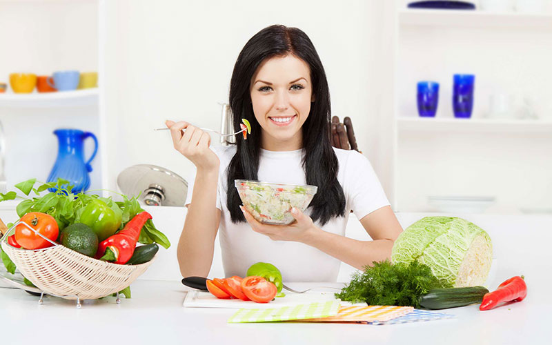 Chế độ ăn giảm cân sau sinh