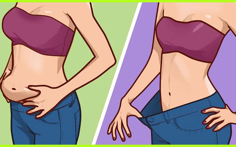 Một số mẹo đơn giản để giảm mỡ bụng