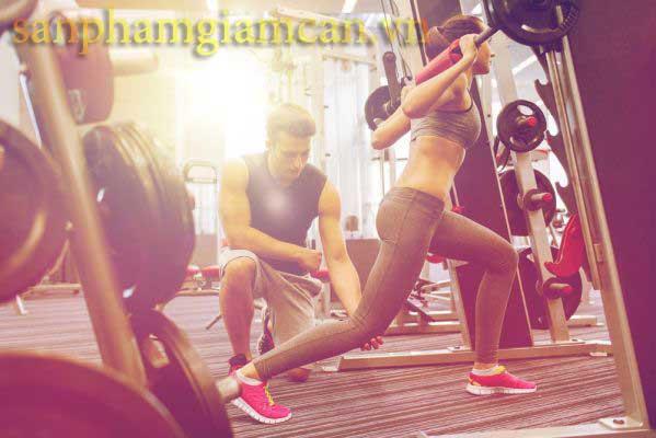 Tập gym giúp tạo cơ bắp săn chắc