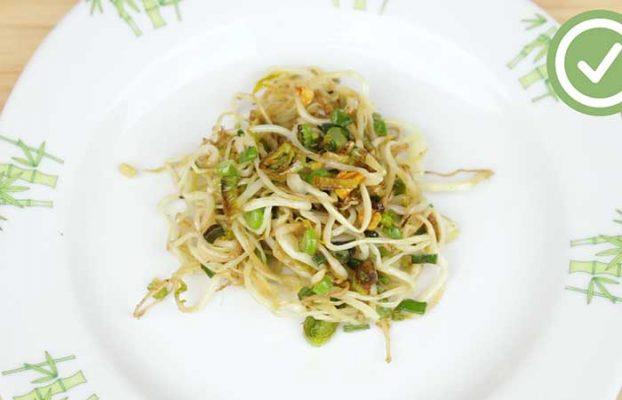 Thực đơn giảm cân từ mầm đậu nành
