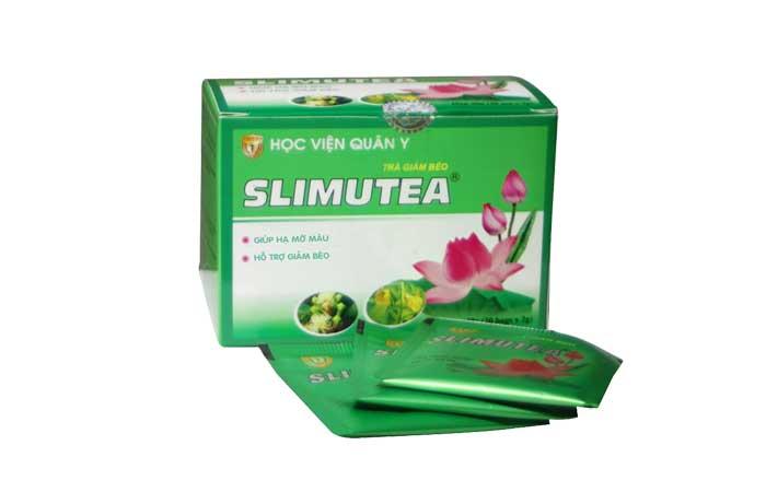 Công dụng của trà giảm cân Slimutea