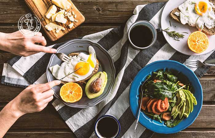 Thực đơn cho bữa sáng giảm cân