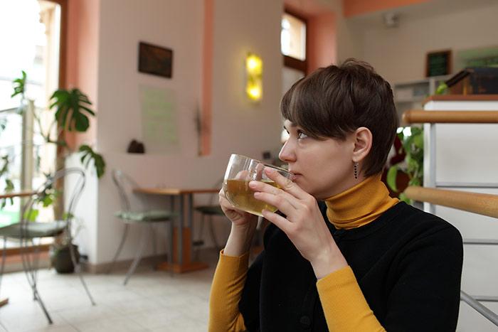 Cách giảm cân trong một tuần - Uống trà xanh