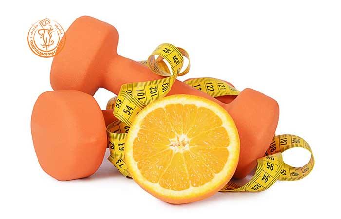Làm thế nào mà cam giúp giảm cân