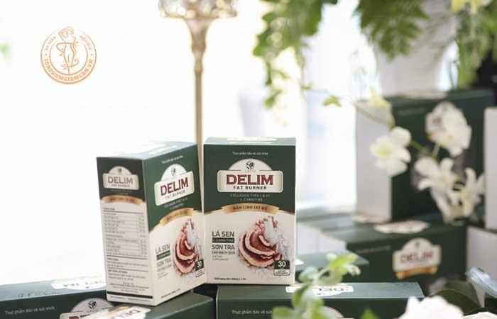 Công dụng của thuốc giảm cân Delim