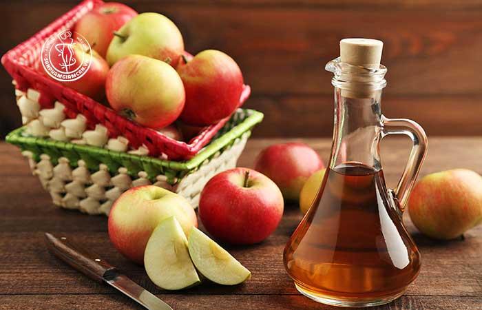 Giấm táo chứa nhiều tác dụng
