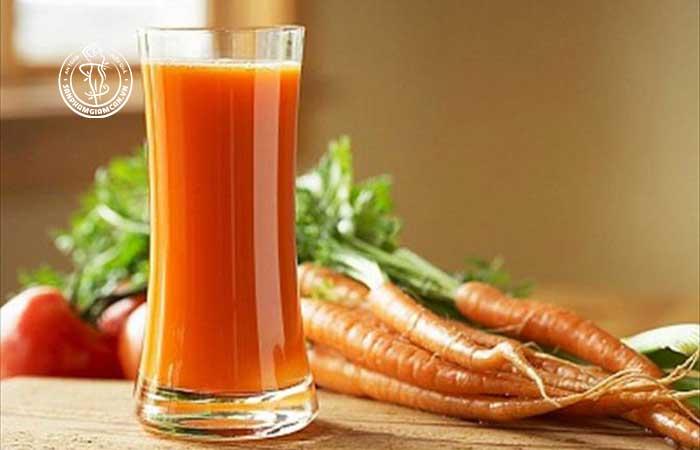 Lợi ích khi uống nước ép cà rốt mỗi ngày