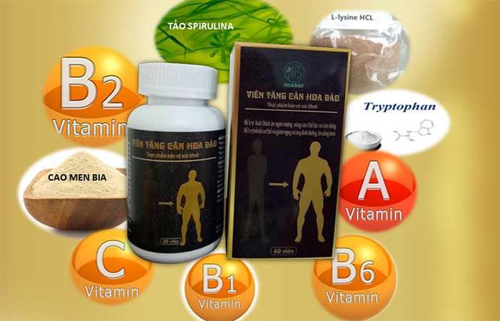 Nhiều thảo dược quý tạo nên giảm cân hoa bảo
