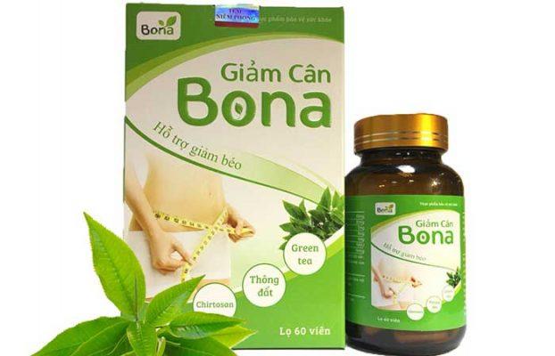 Thuốc giảm cân Bona