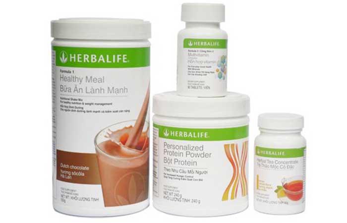 Uống trà herbalife có giảm cân không?