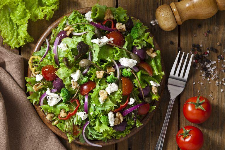 Một bữa trong chế độ ăn kiêng Volumetrics Diet