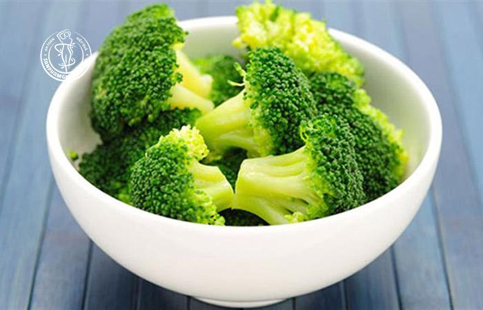 Bông cải xanh là thực phẩm hàng đầu giúp giảm cân