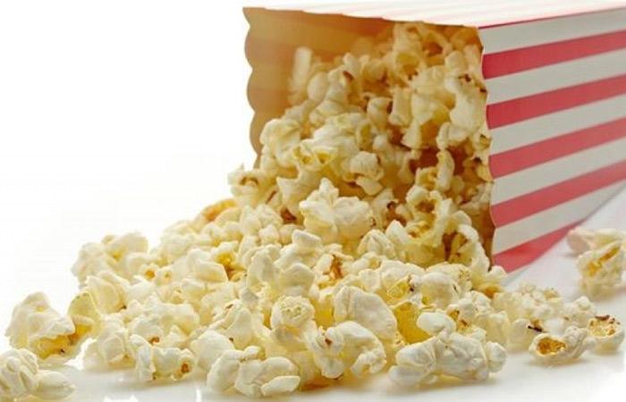 Bỏng ngô chứa nhiều chất xơ cần thiết cho việc giảm cân